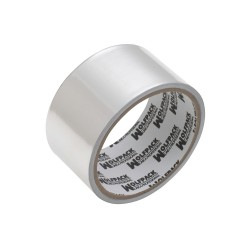 Cinta Adhesiva Aluminio 48 mm. x  5 m. 66 micras