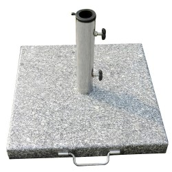 Base Sombrilla Granito 20 kg. / 400x400 mm.