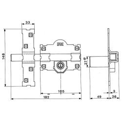 Esmalte Antioxido 750 Ml. Verde Oscuro Brillo