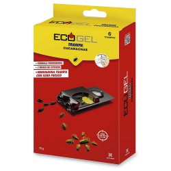 Ecogel Cucarachas Trampa Cucarachas 15 Gramos (Caja 6 Unidades)