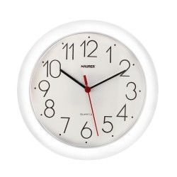 Reloj De Pared Ø 25 cm. Color Blanco