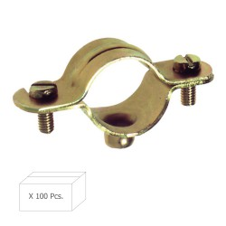 Abrazadera Metalica M-6   10 mm. (Caja 100 piezas)