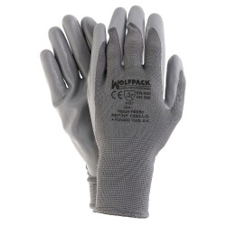 "Guantes Nitrilo / Nylon Glovex  9"" (Par)"
