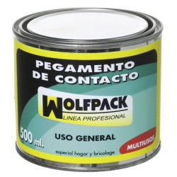 Pegamento Contacto Wolfpack   500 ml.