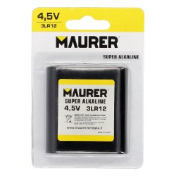 Pila Maurer Alcalina 3LR12 / Petaca (Blister 1 Pieza)