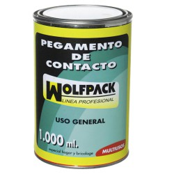 Pegamento Contacto Wolfpack  1000 ml.