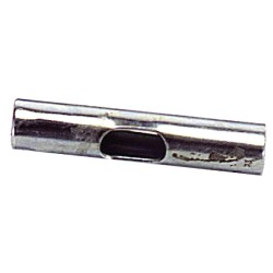 Empalme Para Tubo De 12 mm. Cromo