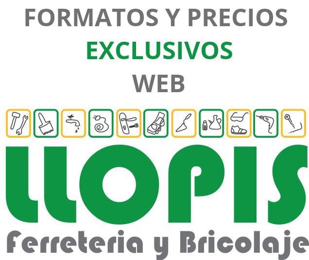 Formatos y Precios Exclusivamente Online